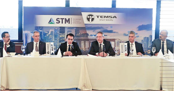 TEMSA, the Bus Market Leader, Continues to Grow Targets with STM