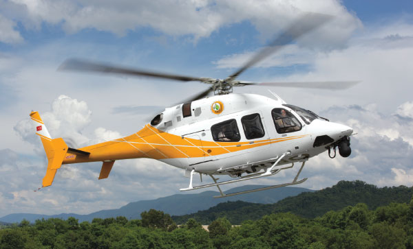 Bell 429 Turkish National Police and Turkish General Directorate of Forestry Fleets Reach 95% Operational Availability Rate