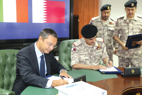 MBDA Signs Contract to Supply a Coastal Missile System to Qatar