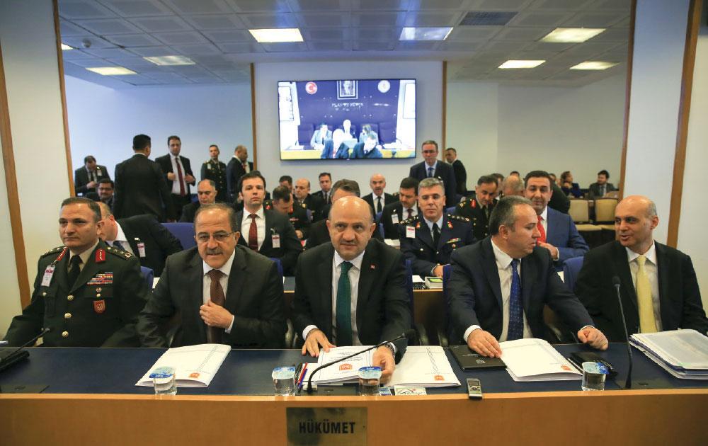 Milli Savunma Bakanı 2017 yılı Milli Savunma Taslak Bütçesini Komisyona Sundu