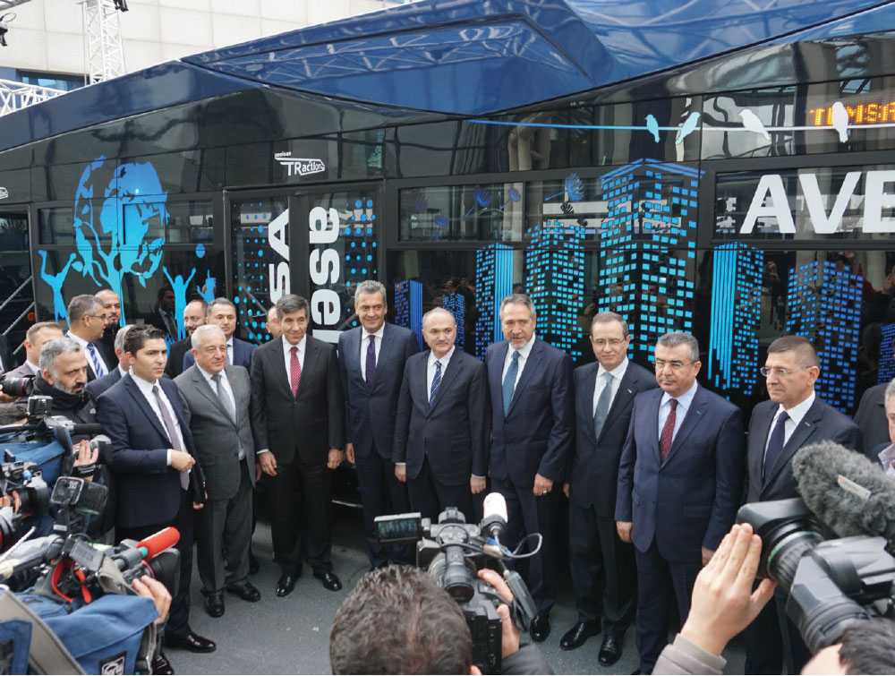 "Aselsan and Temsa's Co-Production Electric Bus ""Avenue EV"" Head Out"