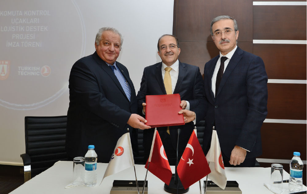 Turkish Technic and SSM to Collabrate for the Maintenance of Command Control Aircrafts