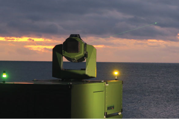 MBDA Deutschland Successfully Tests New Laser Effector