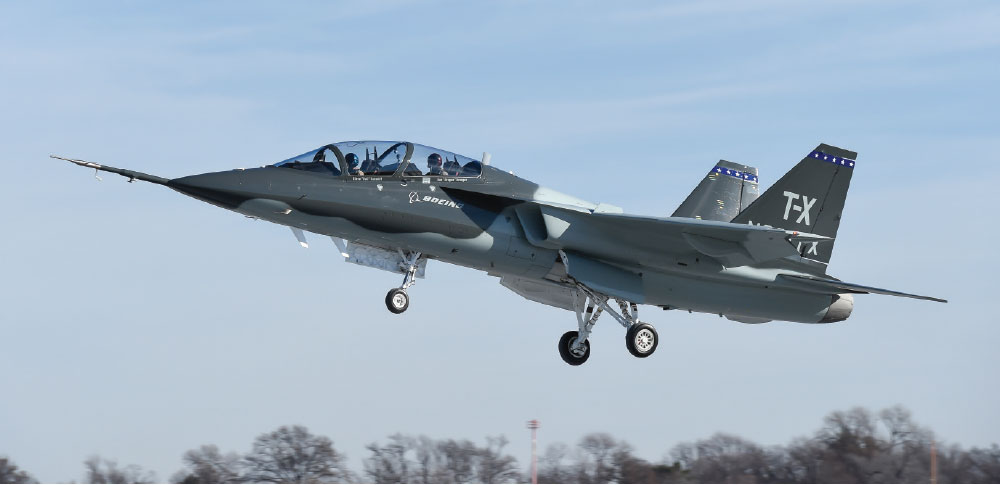 T-X Completes first Flight, Validates Design for Air Force Requirements
