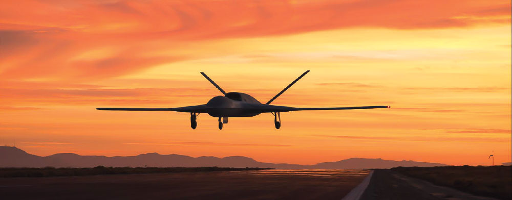 General Atomics Predator C Avenger ER Makes First Flight