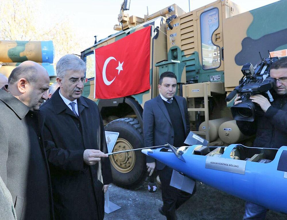 """""""Kasırga"""" 302mm Multi Barrel Rocket System Delivery to Turkish Armed Forces"""