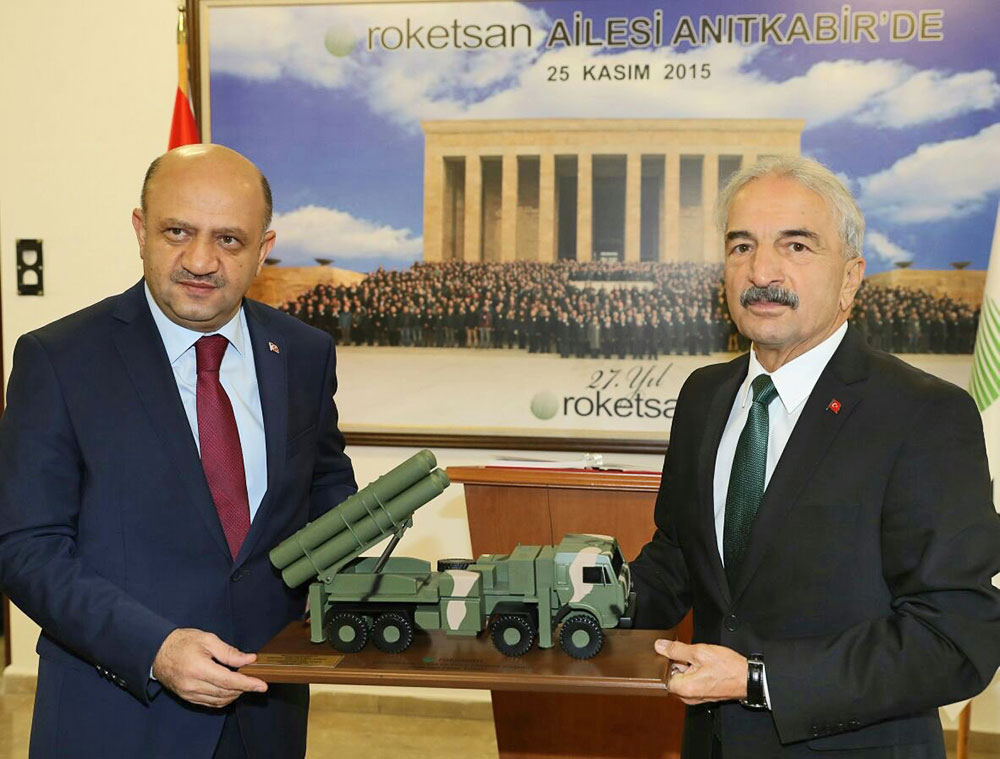 """Kasırga"" 302mm Multi Barrel Rocket System Delivery to Turkish Armed Forces"