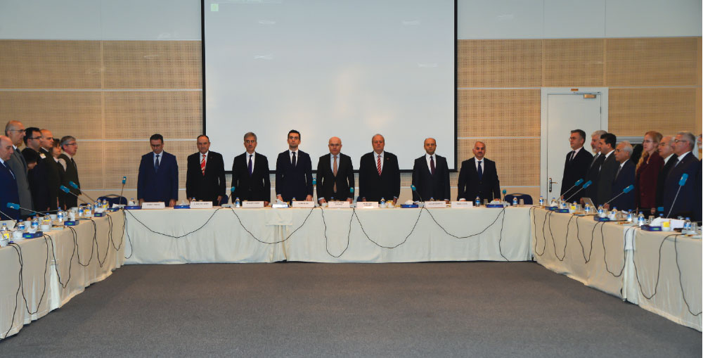 2016 TOBB Defense Industry Council Assembly Meeting Convened in Ankara
