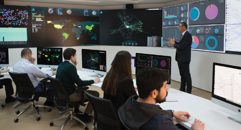 STM Cyber Fusion Center Intercepting Cyber Threats