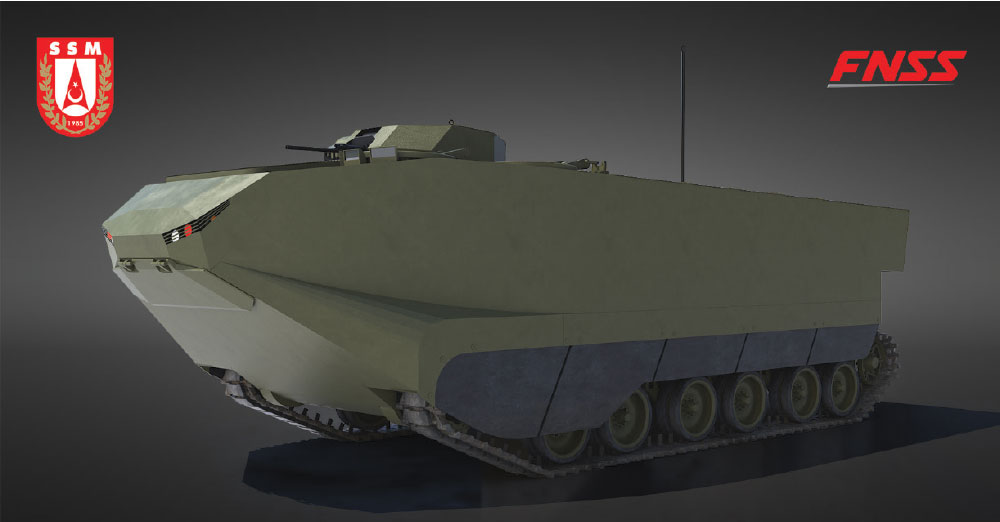 Turkish Defense Powerhouses FNSS and SSM Team up for Local Design and Production to ZAHA Program