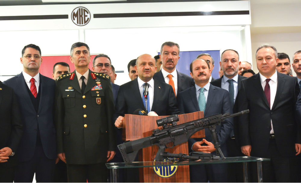 Inauguration of Shooting Range and Test Center