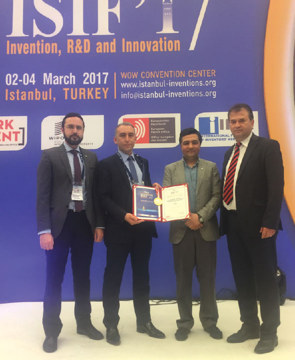 TAI Awarded Invention Award at the Istanbul International Invention Fair