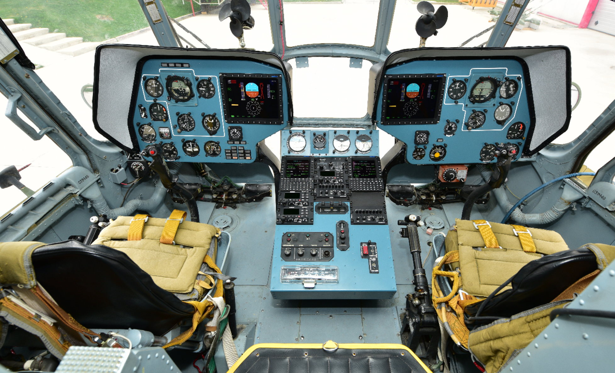 Aselsan Cost Effective Solution for Mi-17 Helicopters