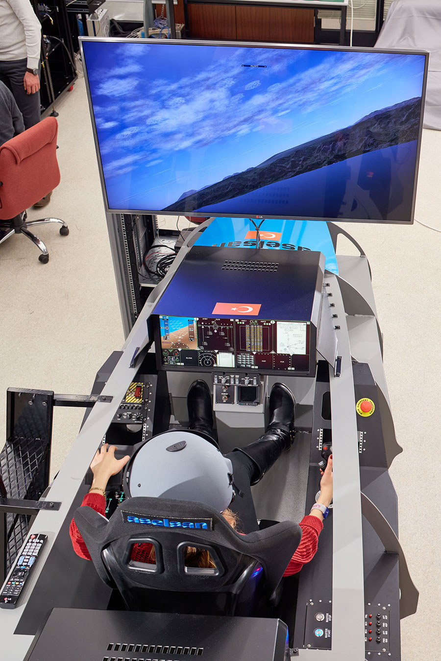 The New Generation Smart Cockpit Solution from Aselsan For  Turkish Indigenous Fighter and Next Generation Fighter Aircrafts