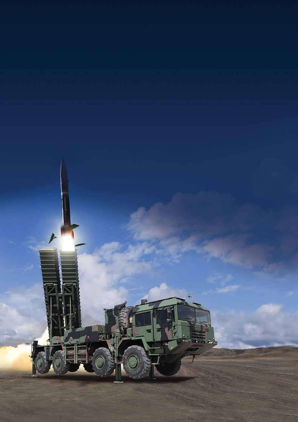 Roketsan Unveils new KHAN Missile System at IDEF' 17