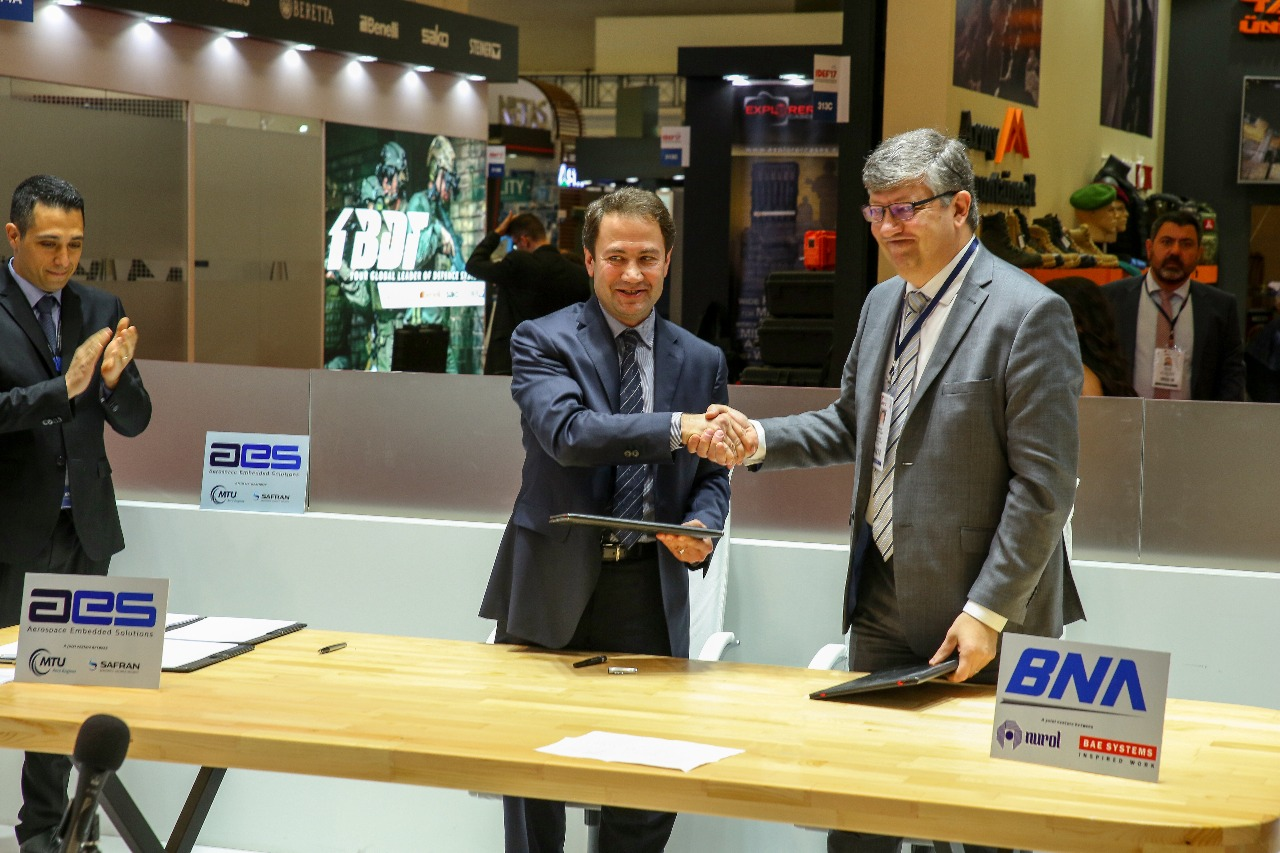 Nurol Bae Systems performed partnership with Germany Companies Developed Motor Control System