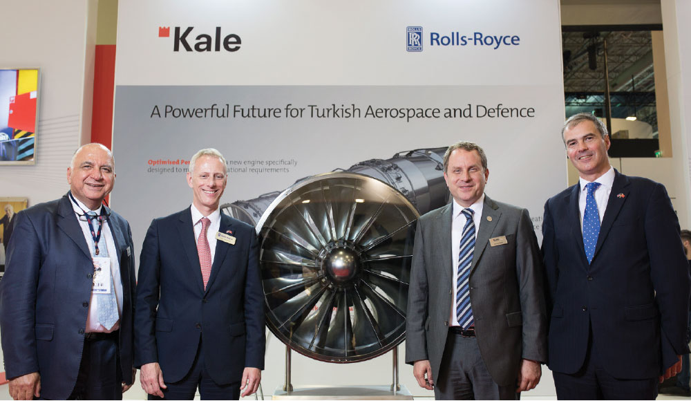 Kale Group and Rolls-Royce to Develop Unique Engine for Turkish Fighter
