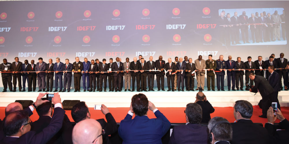 IDEF 2017 - 13th International Defense Industry Fair Gathers the Giants of Defense