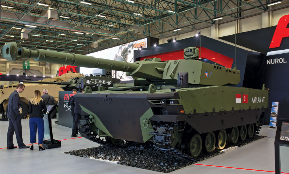 Turkey's New Approach in Defense Cooperation: FNSS Leads the Way with Kaplan Modern Medium Weight Tank Developed for Indonesia