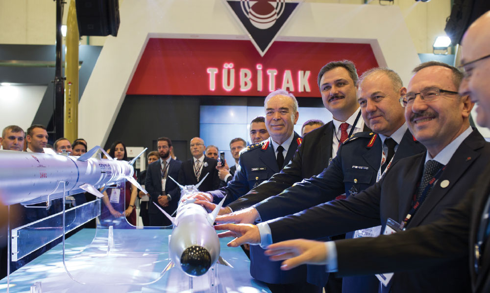 Turkey's First Air-to-Air Missile were Launched by TÜBİTAK-SAGE
