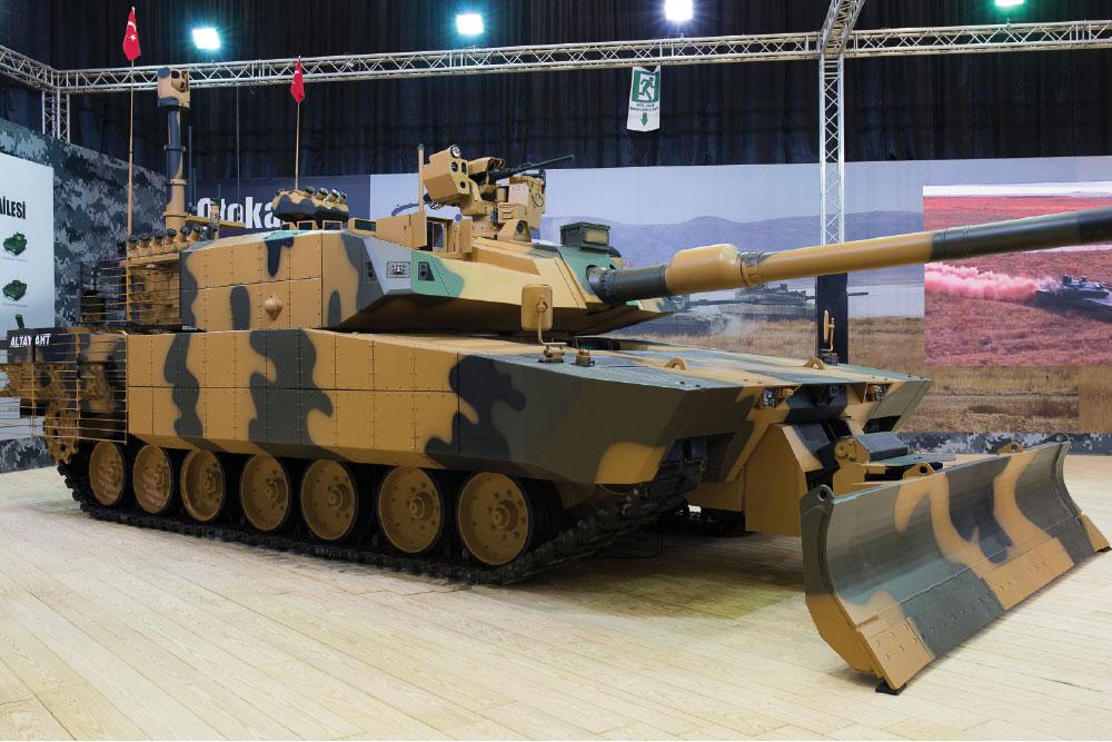 Otokar Unveiled Altay-AHT, Urban Operations Tank