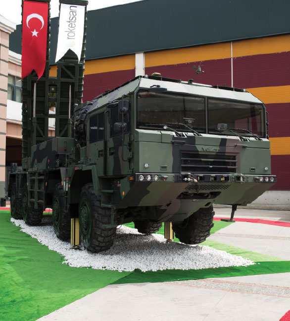 Indigenous Rocket and Missile Center Showcased at IDEF