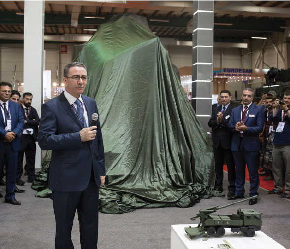 "MKEK – ""Yavuz"" Howitzer System Launched at IDEF"