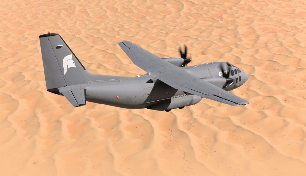 "Leonardo ""We have What Turkey Needs"" with the C-27J Spartan"