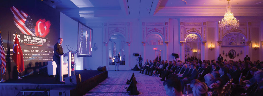 The ATC's 36th Annual Conference Brings together Stakeholders and thought Leaders, Addressing Key Bilateral Commercial and Diplomatic Topics