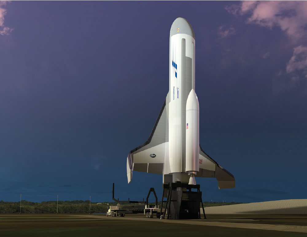 Boeing, DARPA to Design, Build, Test New Experimental Spaceplane