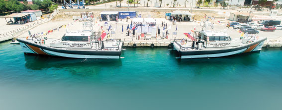 Turkish Coast Guard Command Takes Delivery of First Two Damen Search and Rescue Vessels
