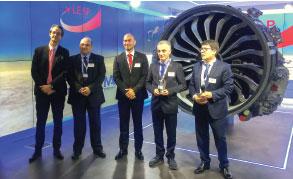TEI Receives the Best Business Partner Award at Paris Air Show