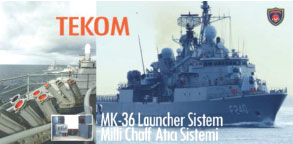 TEKOM - Reliable Business Partner Manufacturing Unique Products for Turkey's Defense and Security Requirements