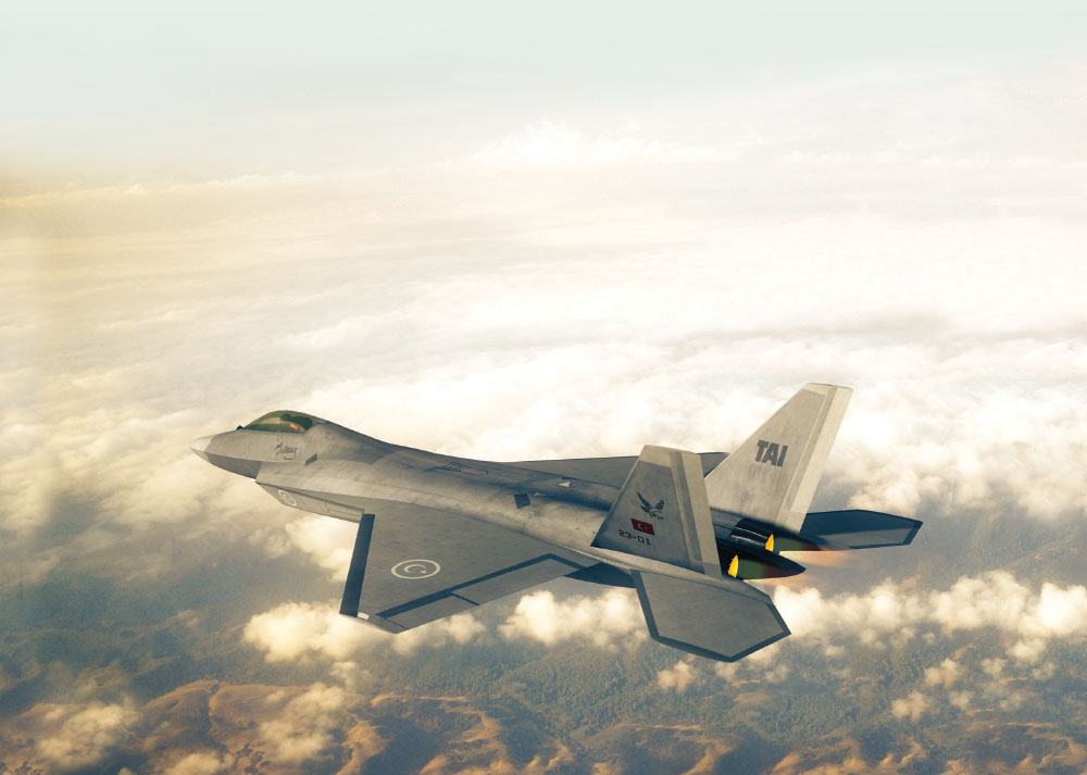 Turkish Fighter in TuRAF Inventory Beyond 2030s