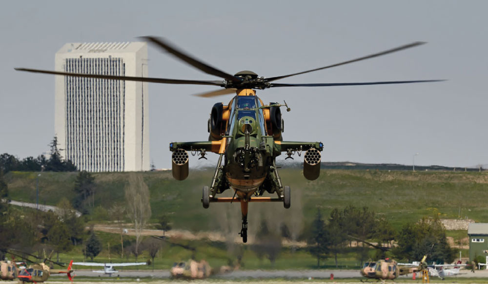 "Turkey Ramps up T129 ""Atak"" Attack Helicopter Production"