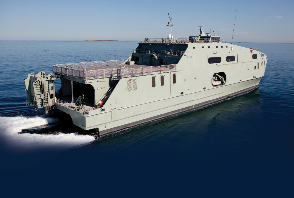 Austal High Speed Support Vessel