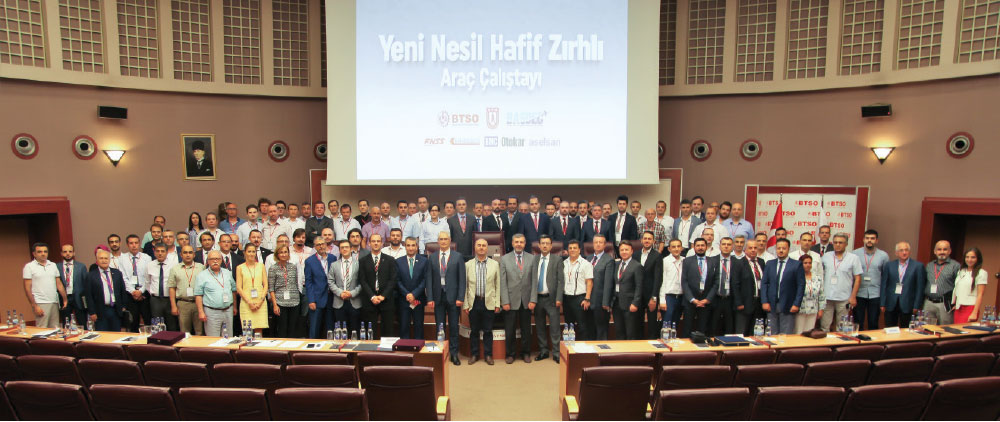Workshop on the New Generation Light Armored Vehicles Realized in Bursa under the Auspices of the Chamber of Commerce and Industry of Bursa