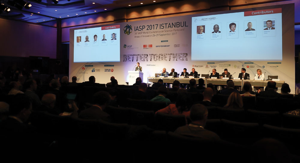 Innovation Ecosystem Professionals from around the World Predict the Future at the 34th IASP World Conference in Istanbul, Turkey