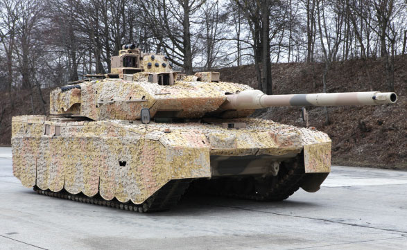 104 German Leopard 2 MBTs to be Modernized