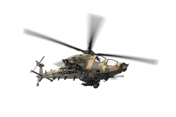 """Turkey Ramps up T129 """"Atak"""" Attack Helicopter Production"""
