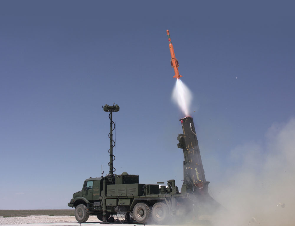 "Vertical Firing Test Accomplished in ""Hisar"" Projects"