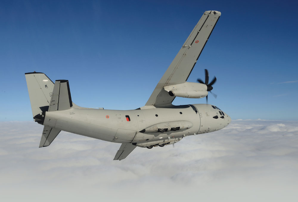 Leonardo Demonstrates Mission Versatility and Prowess of C-27J Aircraft