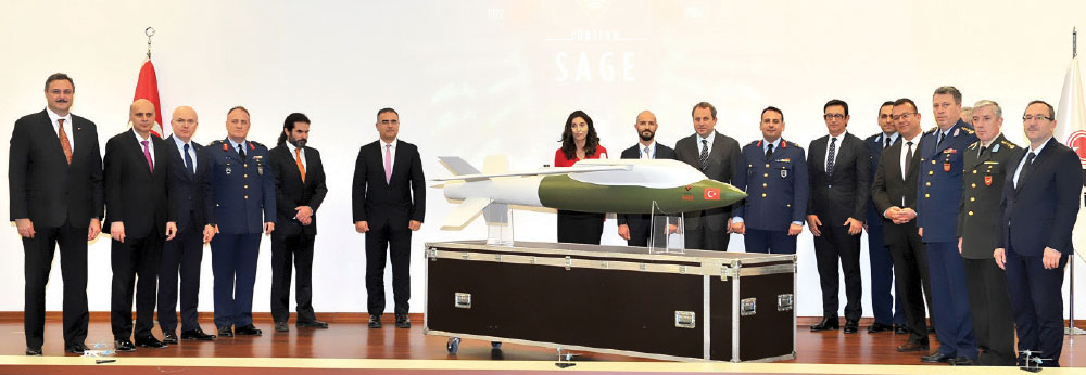 Wing-Assisted Guidance Kit (KGK) developed by TÜBİTAK SAGE -Locked and Loaded