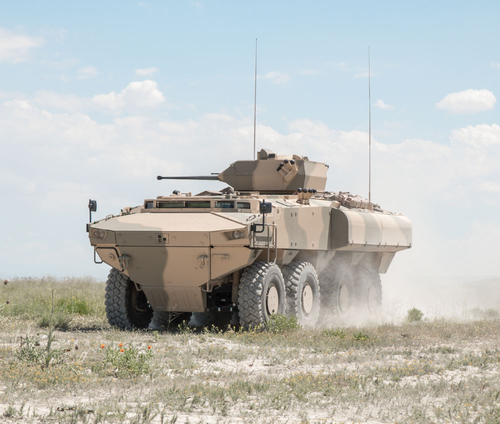 FNSS Pars 8x8 WACV Accomplished Firing Tests in Oman