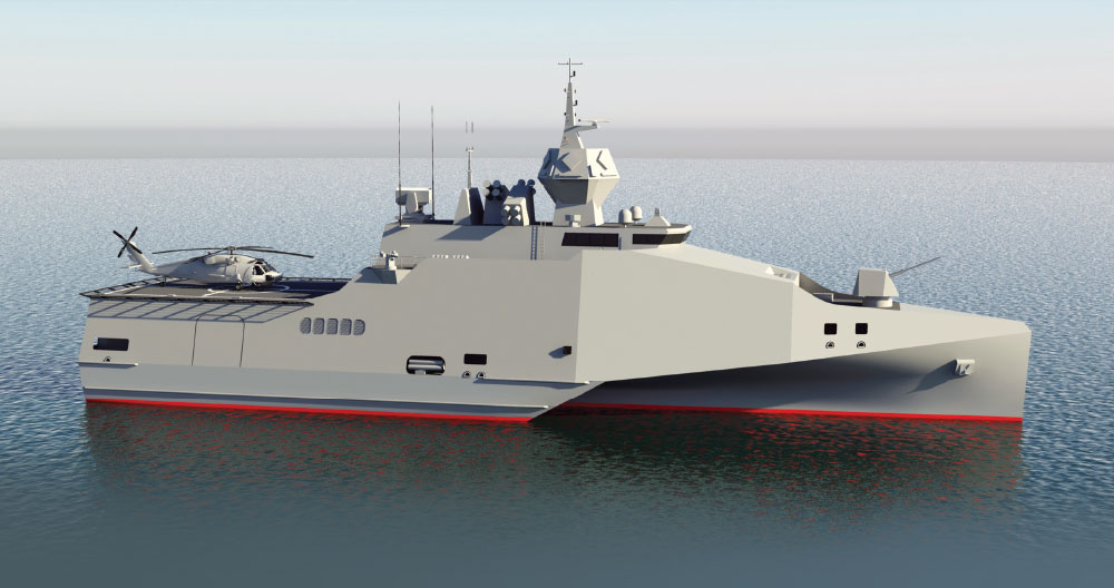 Multi-Role Vessel (MRV) - Modern and Progressive Solution that Exceeds the Capabilities of a Corvette