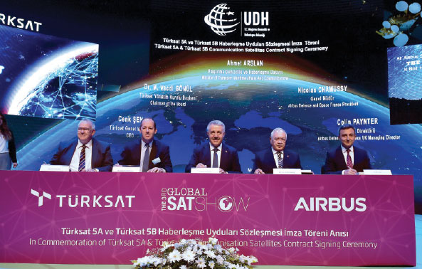 TÜRKSAT 5A & 5B Satellites to be Manufactured by Airbus