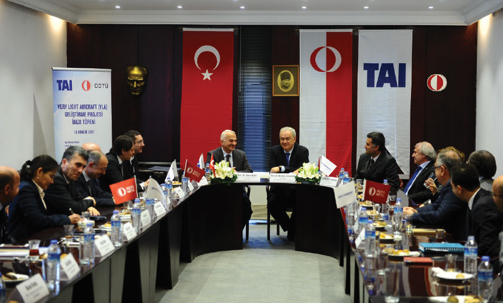 METU and TAI Initiate the Very Light Aircraft Development Program