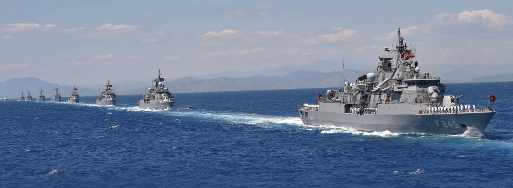 Turkish Naval Forces – Dependable in Cooperation, Deterrent in Crises and Decisive in Combat