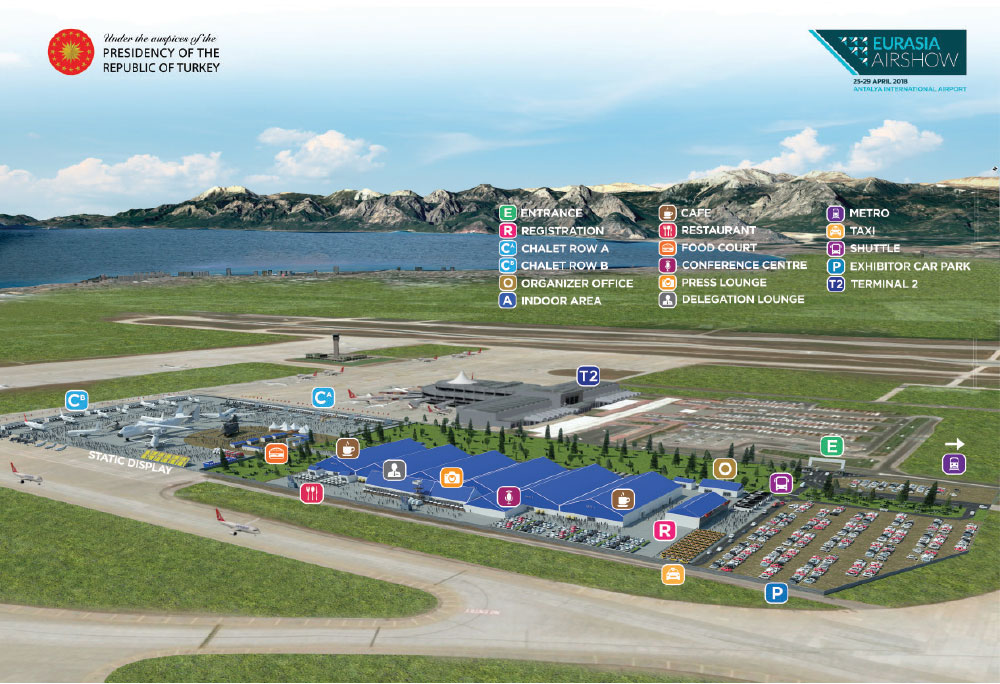 Eurasia Air Show 2018 – Expected to Rival the Dubai Air Show in the Near Future