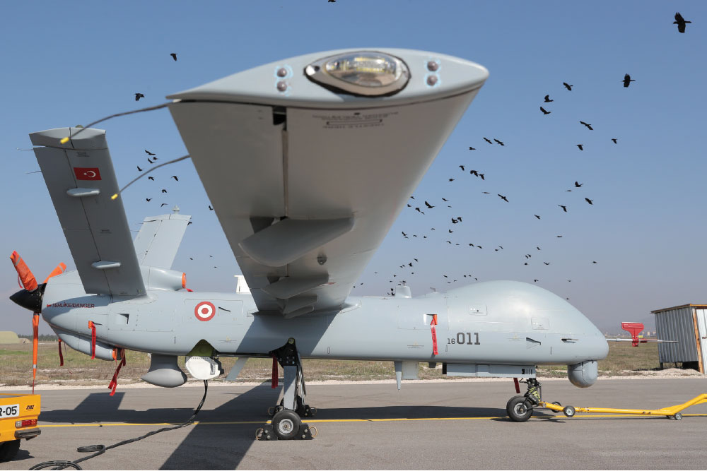 TAI Delivers the First Anka-S UAV Systems to TuRAF